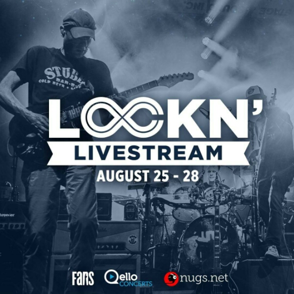 FREE Livestreaming all four days and nights of LOCKN' 2016!