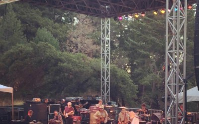 """VIDEO """"Tomorrow Never Knows"""" Wilco w Grateful Dead's Bob Weir and Bill Frisell at Sound Summit Festival, Mt Tamalpais, California"""