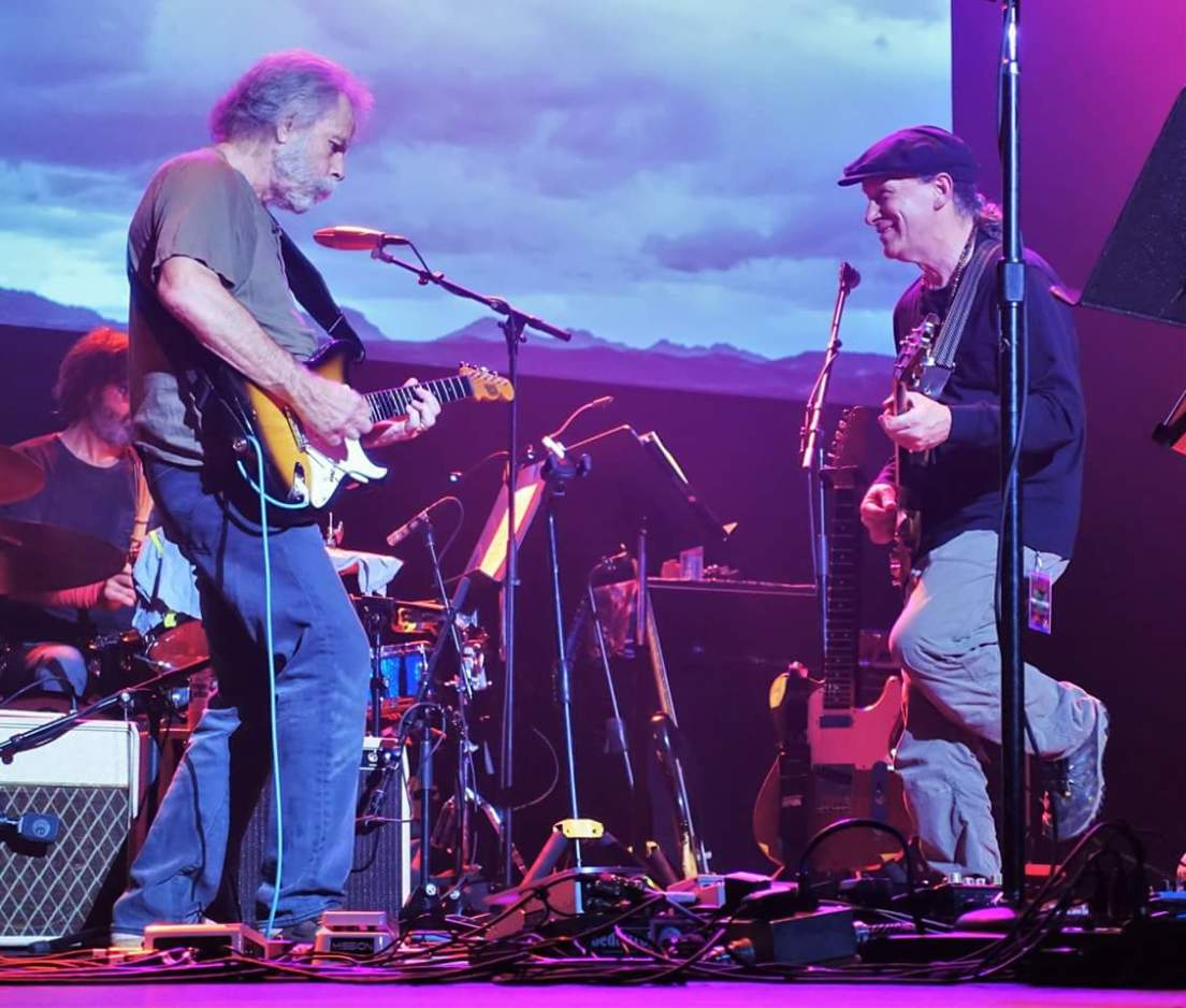 Bob Weir, Steve Kimock, Fox Oakland, photo 📷 by Doug Clifton