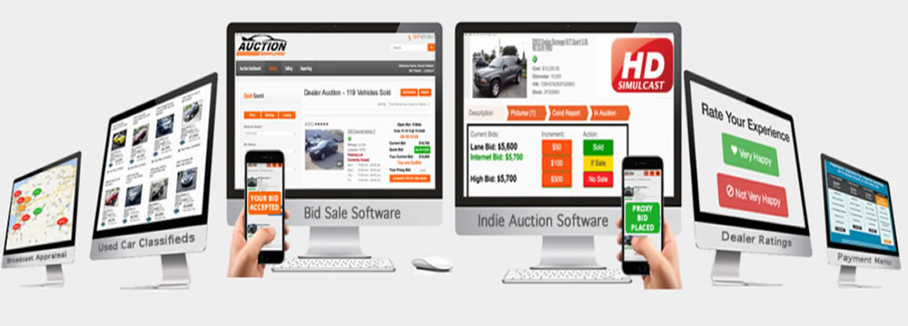 Dealer Simplified - Auction Software, Used Car Classified and - silent auction app free