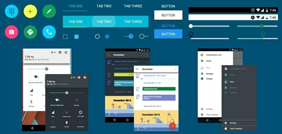 App UI Design Kit \u2013 Free Material Design for Your Android App