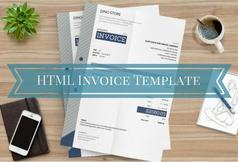 Free HTML Invoice Template with Auto Calculations! DealFuel - free invoicing templates