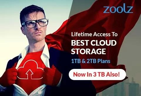 Zoolz Cloud Storage Lifetime 3 TB Storage for Win  Mac 9727 Off - zoolz review