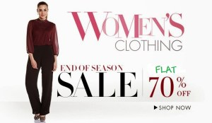 Women clothing 70% off