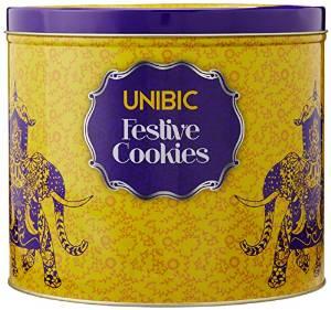 Amazon Unibic Festive Cookies, Tin, 500g