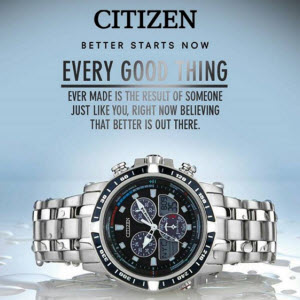 Amazon Citizen watches at 50 off