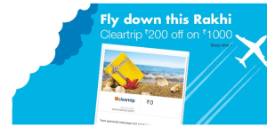Amazon Cleartrip Voucher – Get Rs.200 off on Flight or Hotel Booking of Rs.1000 and above