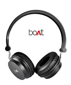 Boat Rockerz 400 On-Ear Bluetooth Headphone (Black) Rs 1199 only amazon