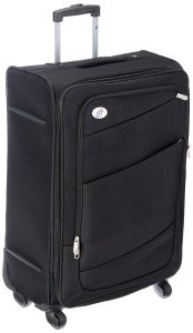 Amazon – Buy American Tourister Polyester 69 cms Black Softsided Suitcase at Rs 3800 only