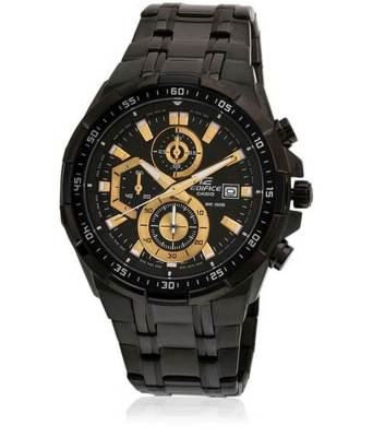 Snapdeal – Buy Casio Edifice Stopwatch Men's Chronograph EFR-539BK-1AUDVF(EX187) at Rs 7321 only