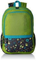 American Tourister Hashtag Lime Casual Backpack