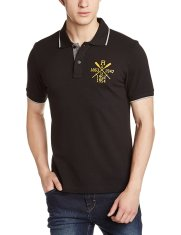 Amazon - Buy Symbol Men's Polo Collared T-shirts for just Rs.359(60% off, Multiple colours)