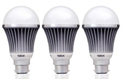 Amazon – Buy Syska LED SSK 7 Watts Unbreakable Bulb (Pack of 3, Cool Day Light) Made in Korea for just Rs.399(82% off)