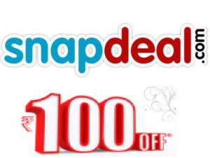 snapdeal get Rs 100 off on Rs 500 via facebook