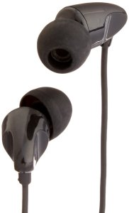 Amazon - Buy AmazonBasics In-Ear Headphones with universal mic (Black) at Rs 369 only
