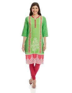 Flipkart - Buy Aurelia Printed Women's Straight Kurta at Rs 314 only