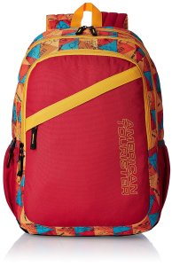 Amazon - Buy American Tourister Hashtag Red Casual Backpack at Rs 809 only