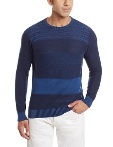 Amazon - Buy Wrangler Men's Cotton Sweater at Rs 1038 only