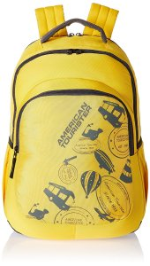 American Tourister Yellow Casual Backpack