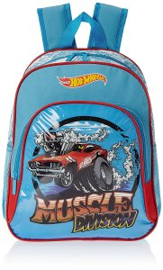 Hot Wheels Blue Children's Backpack