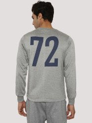 Koovs - Buy BLOTCH Sweatshirt With Back Print at Rs 179 only