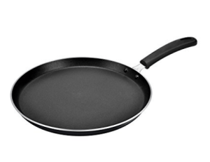 Amazon – Buy Tosaa 3mm Black Non Stick Flat Tawa, 28.5cm at Rs.242 only