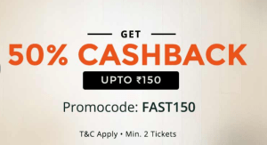 paytm get 50 cashback on movie tickets max Rs 150