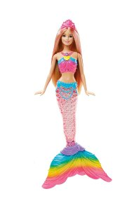 Amazon - Buy Barbie Rainbow Lights Mermaid Doll, Multi Color at Rs 675 only