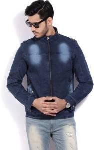 Flipkart - Buy Fort Collins Full Sleeve Solid Men's Denim Jacket at Rs 1061 only