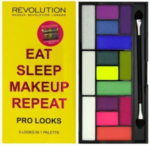Jabong - Buy Makeup Revolution London Eat Sleep Makeup Repeat Pro Looks at Rs 563 only