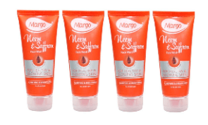 Margo neem and saffron face wash(pack of 4) 100 Ml each