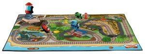 Shopclues - Buy Fisher-Price Thomas the Train Wooden Railway Island of Sodor Felt Playmat at Rs 1777 only