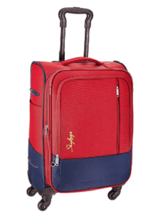 Amazon – Buy Skybags Romeo Polyester 58 cms Red Softsided Suitcase at Rs 2925