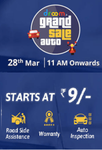 Droom Grand Auto Sale