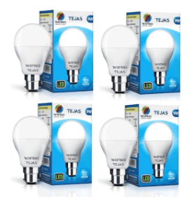 Wipro Tejas 9W LED Bulb - Pack of 4