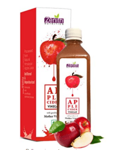 Zenith Nutrition Apple Cider Vinegar ( Raw, Unpasteurized with lots of Mother Vinegar) - 500 ml