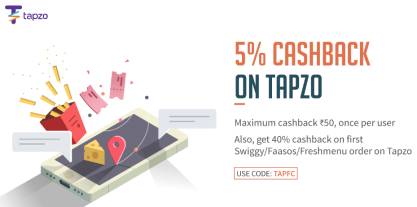 freecharge tapzo offer