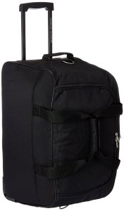 American Tourister Polyester Black Travel Duffle