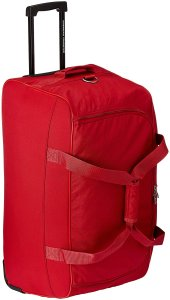 American Tourister Polyester Red Travel Duffle