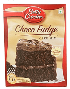Betty Crocker Chocolate Fudge Cake Mix, 475g