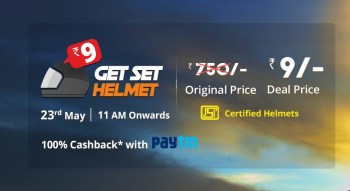 (Live now) Droom – Get a helmet at just Rs 9 only in flash sale