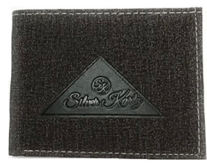 Silver Kartz Men's Leather Wallet