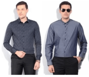 arrow mens casual shirts at 66% off