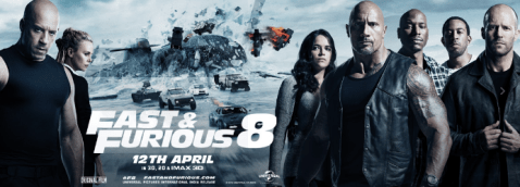 fast and furious 8 paytm