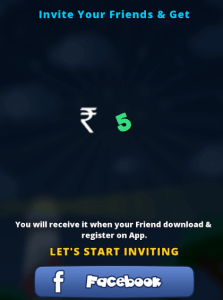 invite friends and earn Rs 5 bulbsmash app