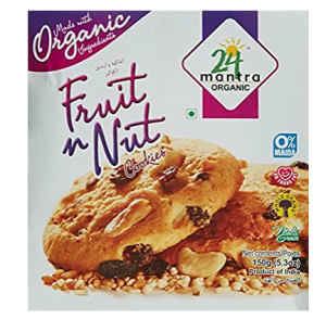 24 Mantra Organic Fruit N Nut, 150g
