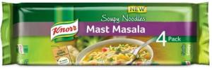 Amazon- Buy Knorr Soupy Noodles, Mast Masala, (Pack of 4) at just Rs 45 only