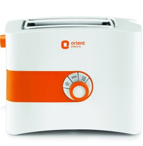 Amazon- Buy Orient Electric PT2S05P 2 Slice Pop Up Toaster Plastic Body (White) at just Rs 879 only