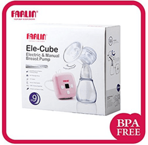 Farlin Manual and Electric Breast Pump (White) at rs.6,497