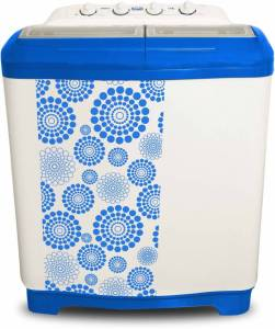 Flipkart- Buy Mitashi 7.5 kg Semi Automatic Top Load Washing Machine (White,Blue, MiSAWM75v10) at just Rs 7799 only